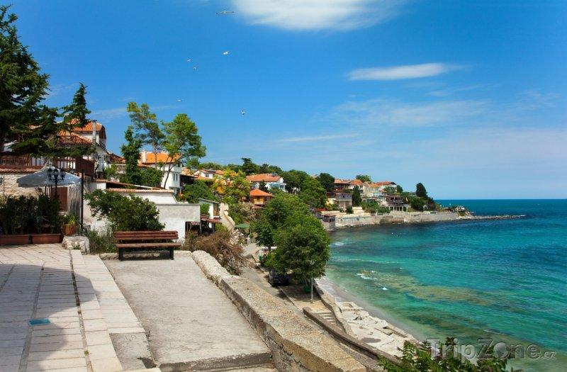 Fotka, Foto Nesebar, pobřeží (Centrální část pobřeží, Bulharsko)