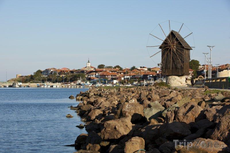 Fotka, Foto Nesebar, přístav (Centrální část pobřeží, Bulharsko)