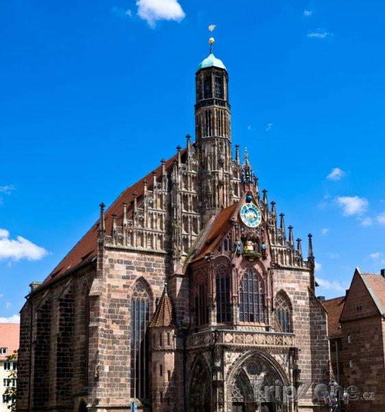 Fotka, Foto Norimberk - Frauenkirche (Norimberk, Německo)