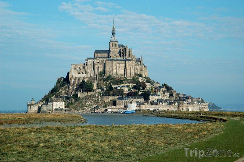 Fotka, Foto Normandie, Mont Saint-Michel (Francie)