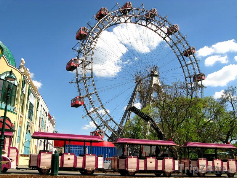 Fotka, Foto Obří kolo (Riesenrad) (Vídeň, Rakousko)