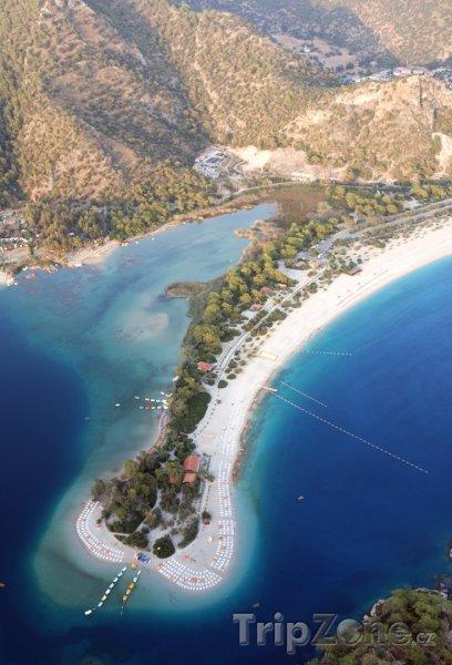 Fotka, Foto Ölüdeniz, pláž (Egejská riviéra, Turecko)