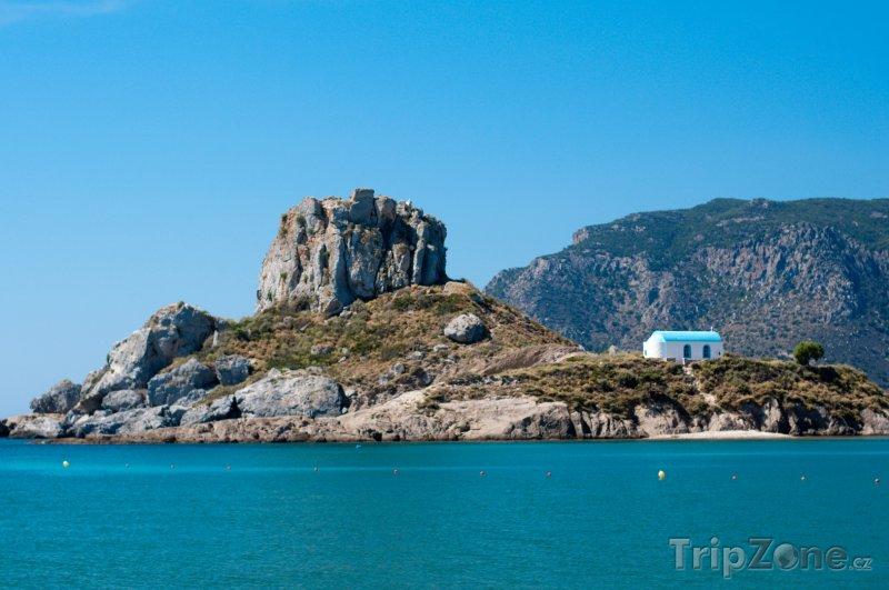 Fotka, Foto Osamocená stavba u pobřeží (Kos, Řecko)