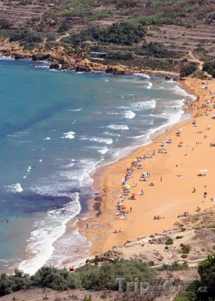 Fotka, Foto Ostrov Gozo - pobřeží (Malta)