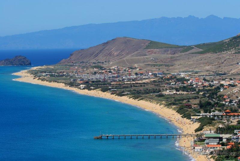 Fotka, Foto Ostrov Porto Santo, pláž (Madeira, Portugalsko)