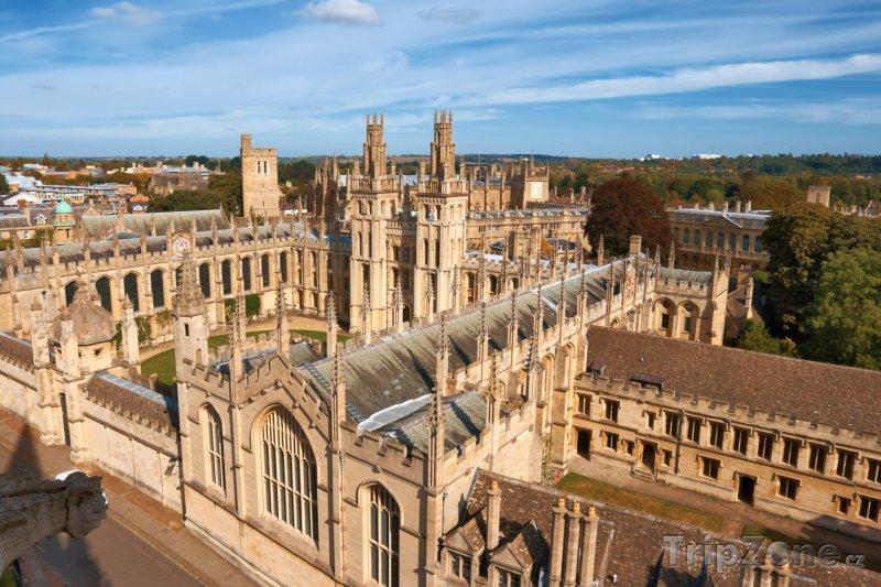 Fotka, Foto Oxford, All Souls College (Velká Británie)