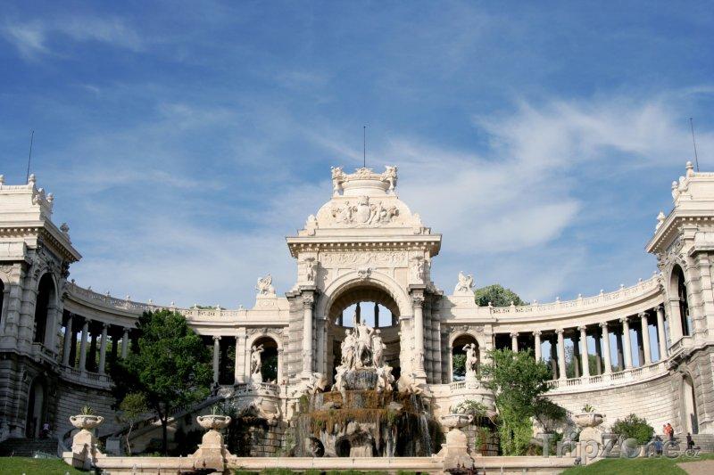Fotka, Foto Palais Longchamp (Marseille, Francie)