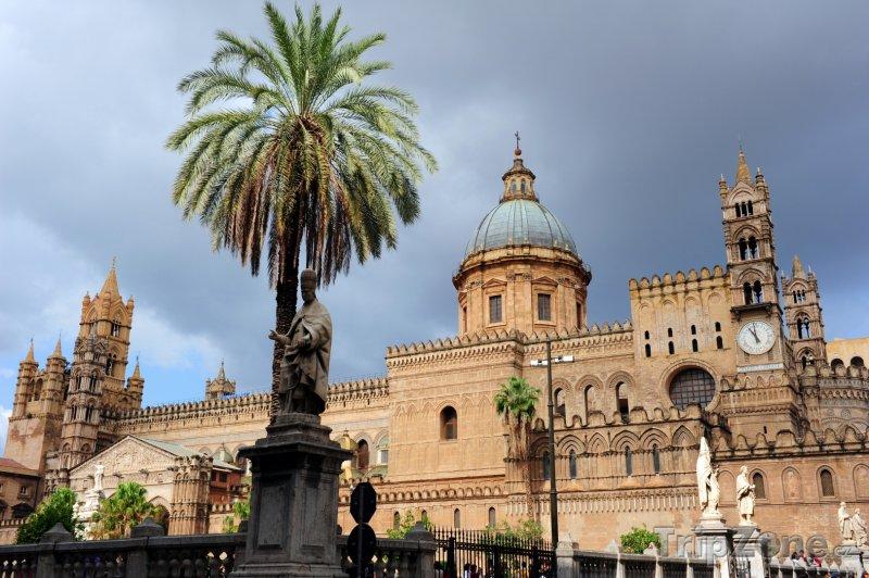 Fotka, Foto Palermo, katedrála Santa Vergine Maria Assunta (Sicílie, Itálie)