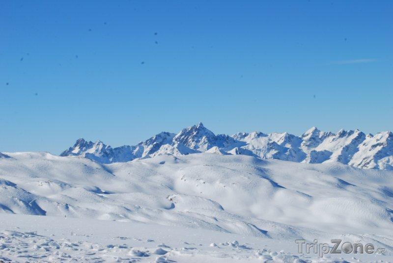 Fotka, Foto Panoráma Alp (Les Sybelles, Francie)
