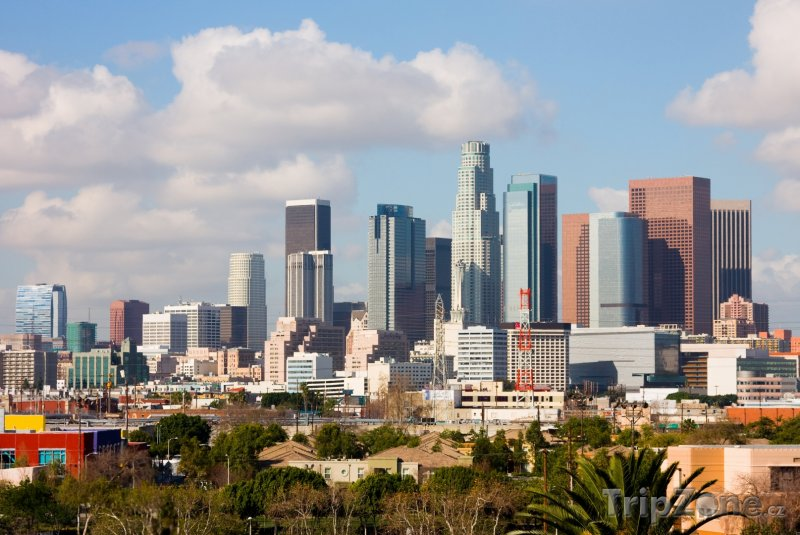 Fotka, Foto Panoráma města Los Angeles (Los Angeles, USA)