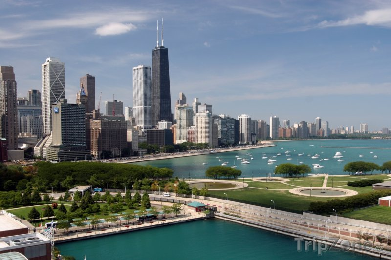 Fotka, Foto Panoráma města (Chicago, USA)