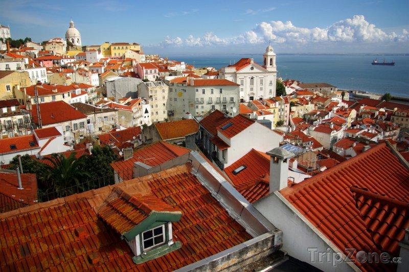 Fotka, Foto Panoráma města (Lisabon, Portugalsko)