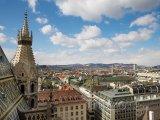 Panoráma města z věže katedrály