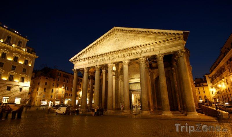 Fotka, Foto Pantheon (Řím, Itálie)