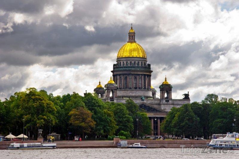 Fotka, Foto Petrohrad, katedrála sv. Izáka (Rusko)