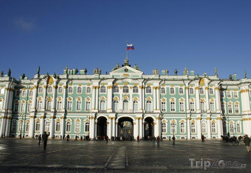 Fotka, Foto Petrohrad, Zimní palác, součást Ermitáže (Rusko)