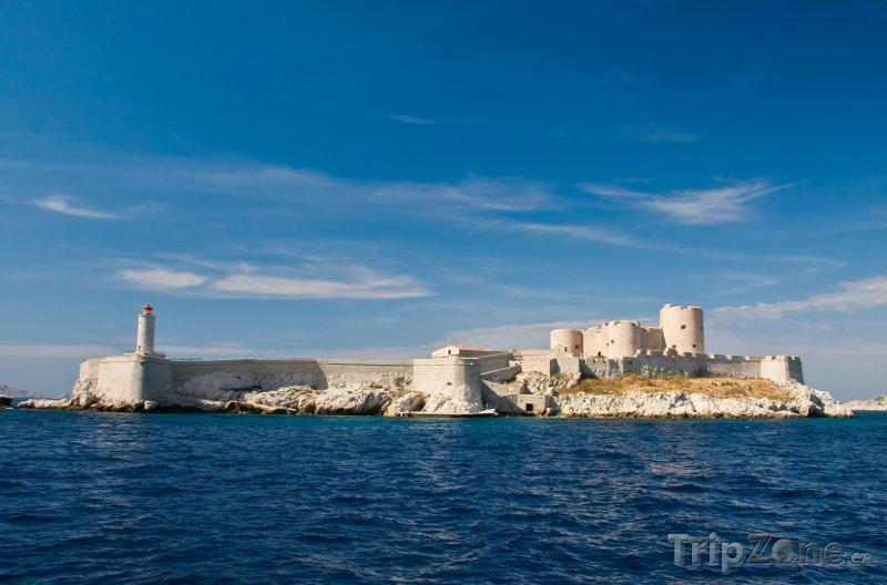 Fotka, Foto Pevnost na ostrově If (Château d'If) (Marseille, Francie)