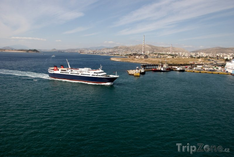 Fotka, Foto Pireus, přístav (Attika, Řecko)