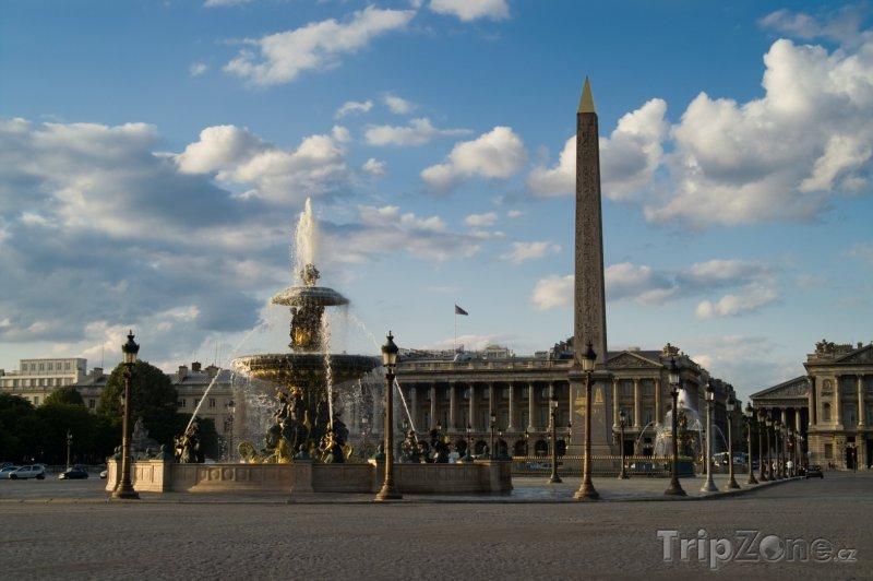 Fotka, Foto Place de la Concorde (Paříž, Francie)
