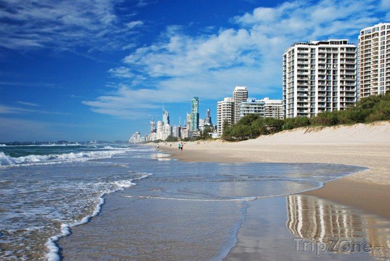 Fotka, Foto Pláž Gold Coast (Austrálie)