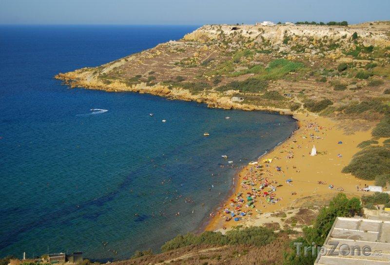Fotka, Foto Pláž na ostrově Gozo (Malta)