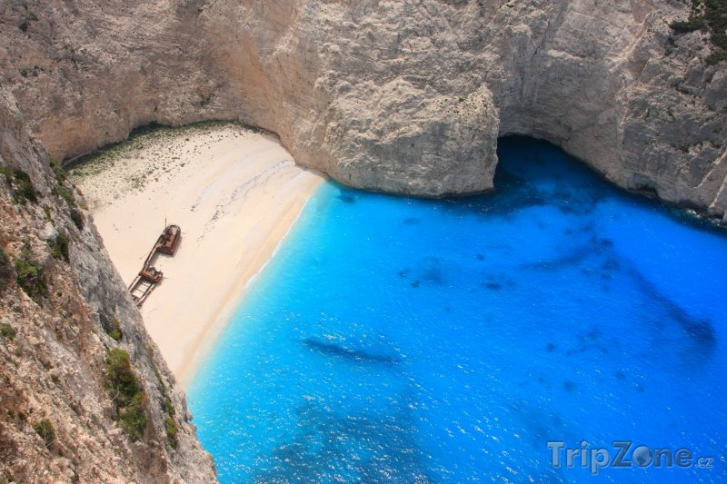 Fotka, Foto Pláž Navagio (Zakynthos, Řecko)