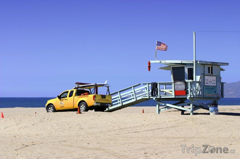 Fotka, Foto Pláž, pobřežní hlídka (Los Angeles, USA)