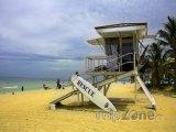 Pláž ve Fort Lauderdale