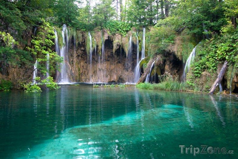 Fotka, Foto Plitvická jezera, vodopády (Chorvatsko)