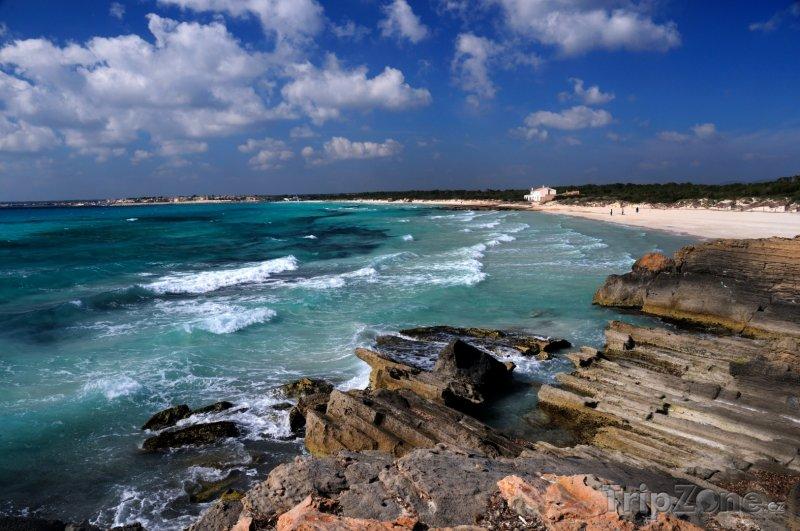 Fotka, Foto Pobřeží ostrova Mallorca (Španělsko)