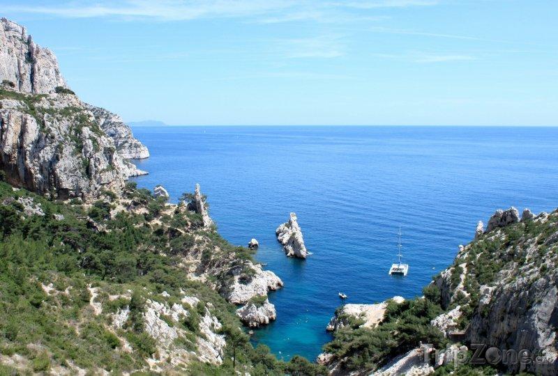 Fotka, Foto Pobřeží v okolí Marseille (Marseille, Francie)