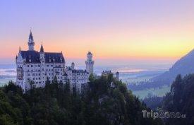 Pohádkový zámek Neuschwanstein v Bavorsku