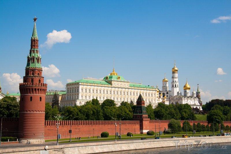 Fotka, Foto Pohled na Kreml (Moskva, Rusko)