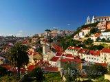 Pohled na město Lisabon