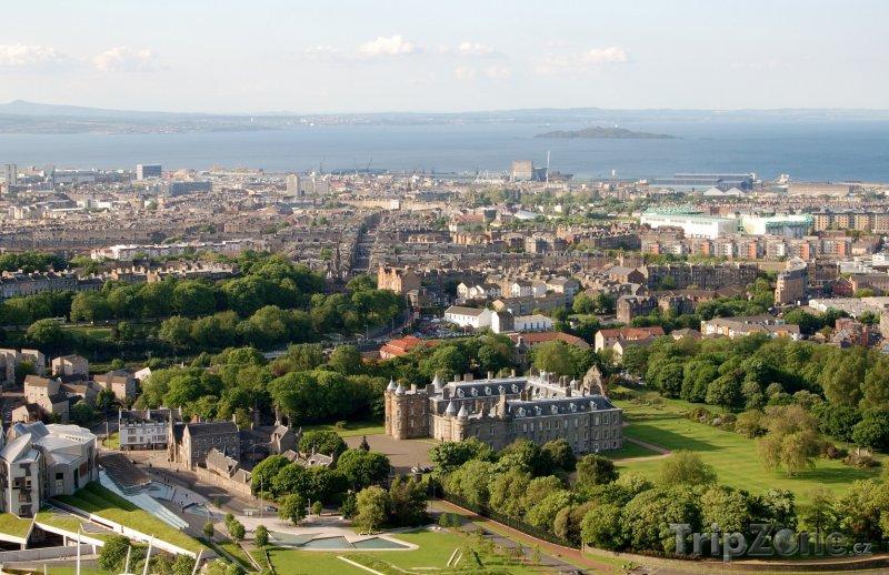 Fotka, Foto Pohled na město (Edinburgh, Velká Británie)