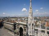 Pohled z Duomo di Milano