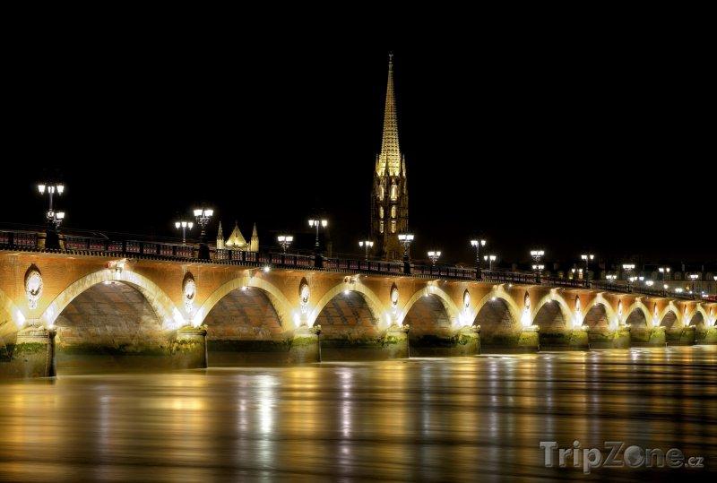 Fotka, Foto Pont de pierre (Bordeaux, Francie)