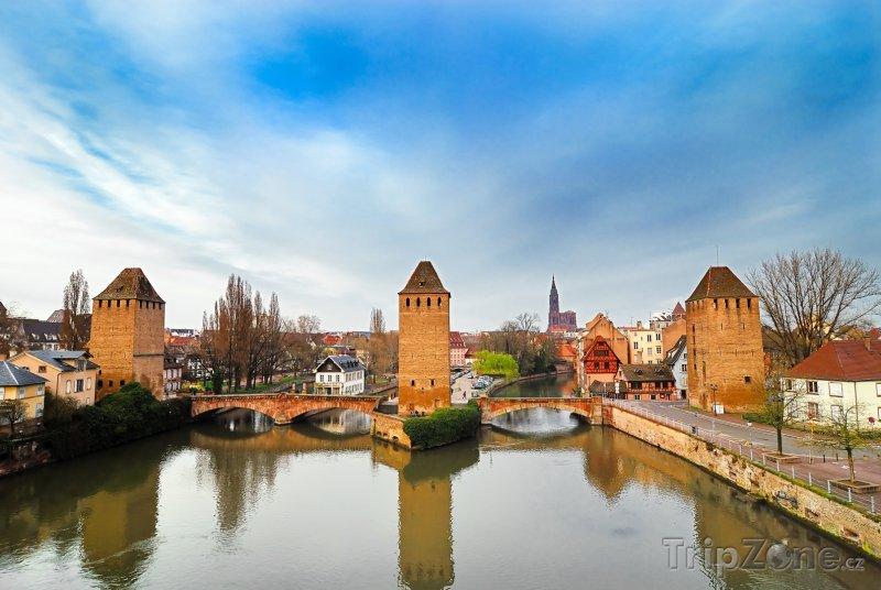 Fotka, Foto Ponts Couverts (Štrasburk, Francie)
