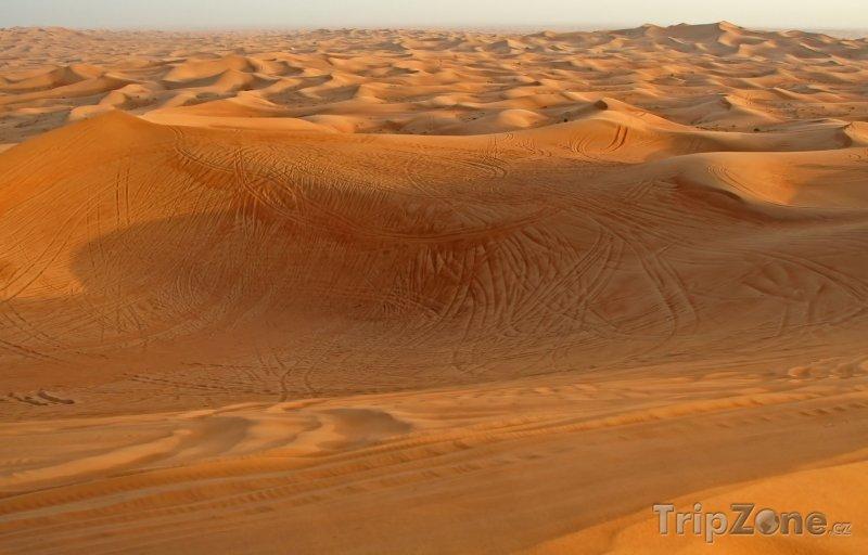 Fotka, Foto Poušť ve Spojených arabských emirátech (Spojené arabské emiráty)