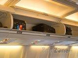 Příruční zavazadla na palubě letadla
