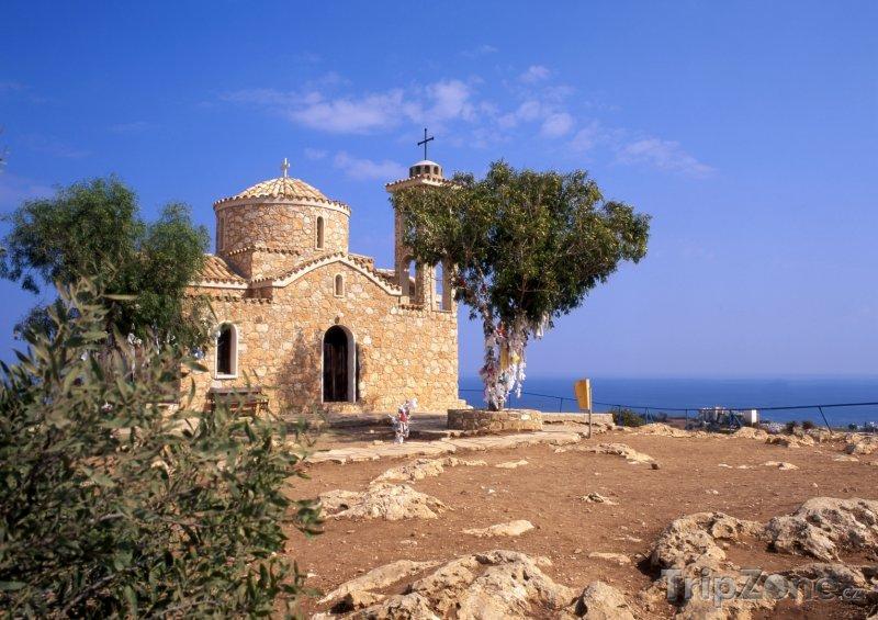Fotka, Foto Protaras, kostel sv. Eliáše (Kypr)