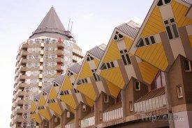 Rotterdam, domy Kubuswoningen
