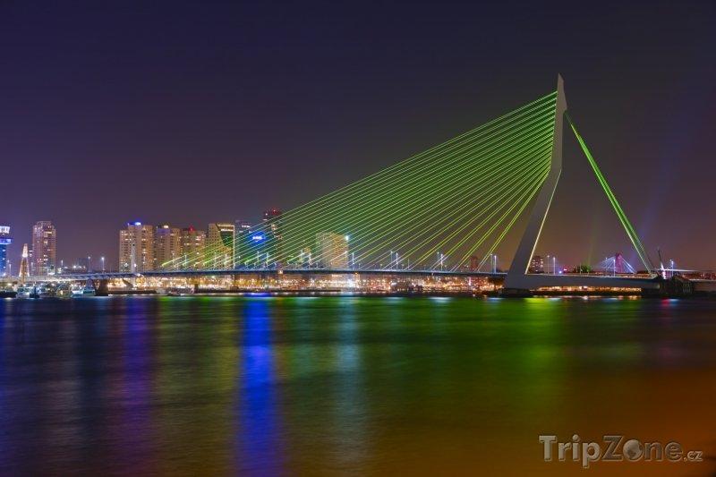 Fotka, Foto Rotterdam, most Erasmusbrug (Nizozemsko)