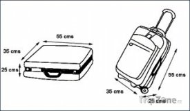 Rozměry zavazadel