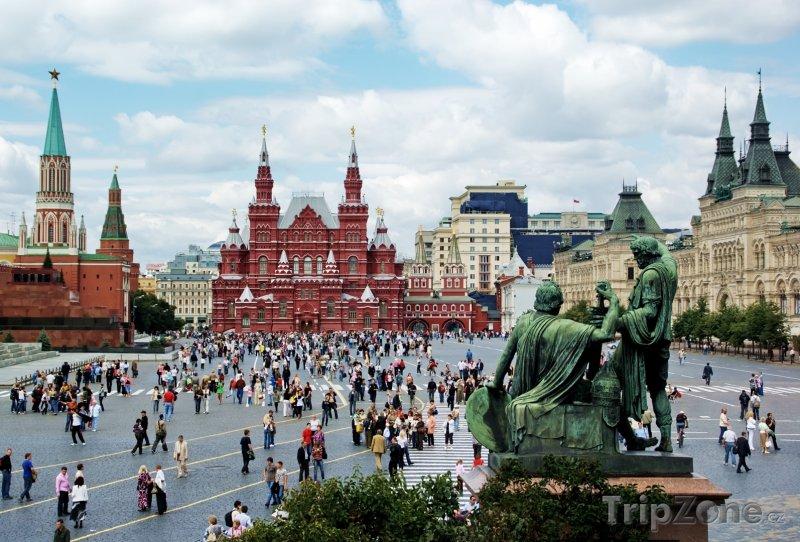 Fotka, Foto Rudé náměstí (Moskva, Rusko)