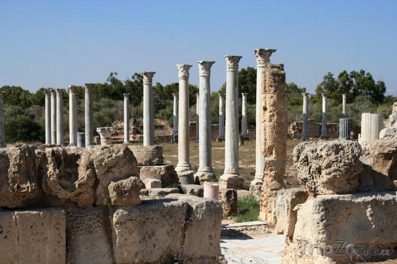 Fotka, Foto Salamis, ruiny města (Kypr)