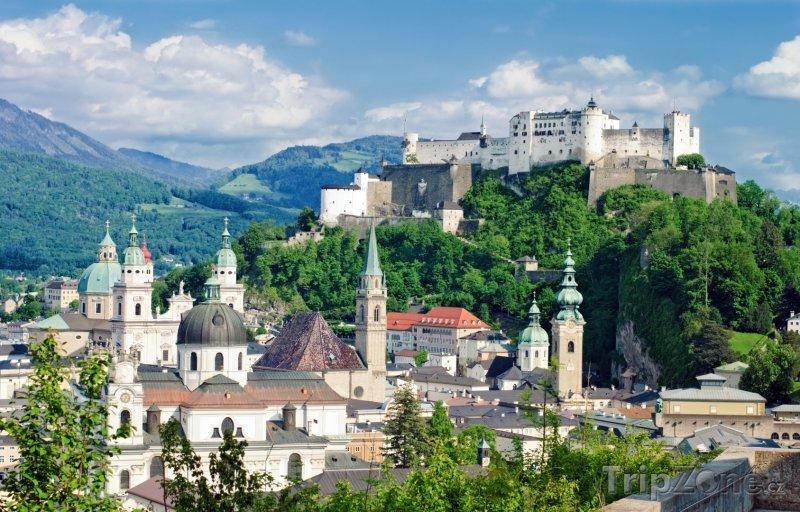 Fotka, Foto Salcburk, hrad Hohensalzburg (Rakousko)
