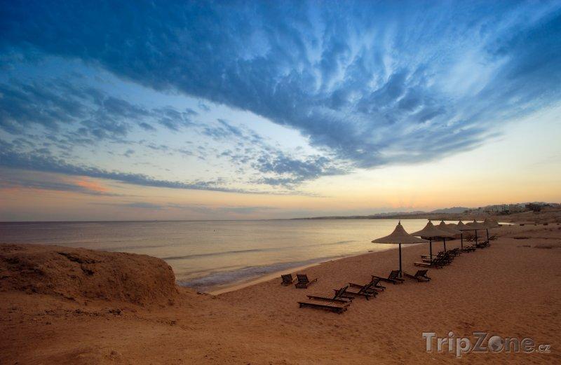 Fotka, Foto Sharm El Sheikh, západ slunce (Sinaj, Egypt)