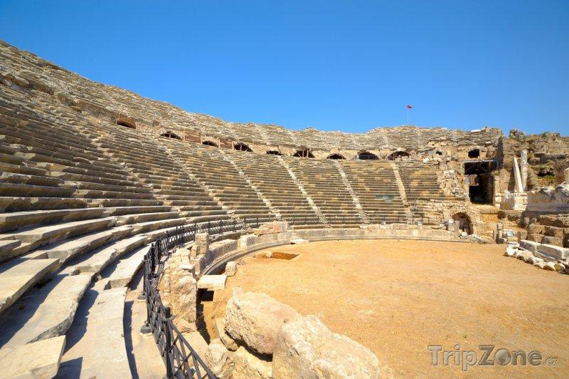 Fotka, Foto Side, antické divadlo (Turecká riviéra, Turecko)