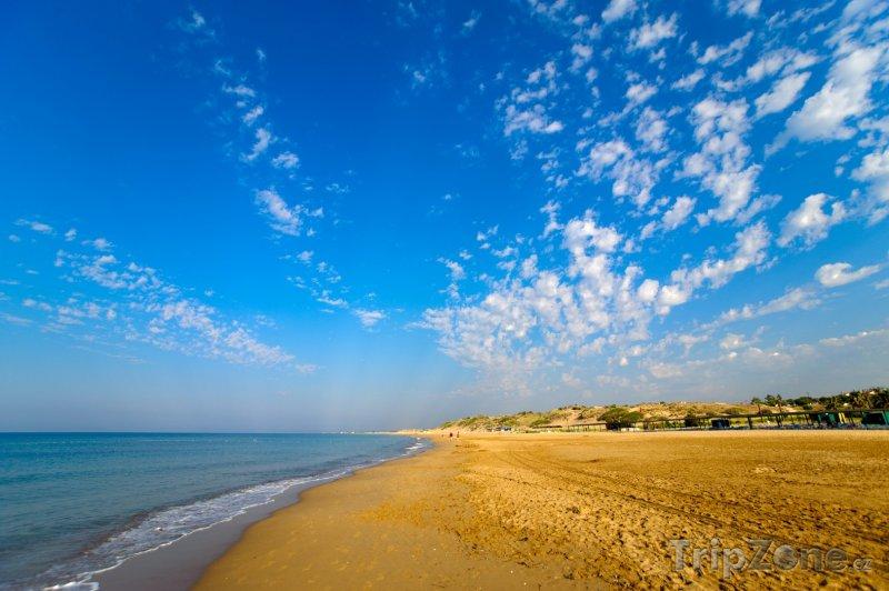 Fotka, Foto Side, pláž (Turecká riviéra, Turecko)